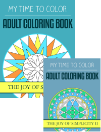 adult coloring books - simplicity