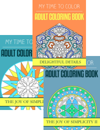available now - coloring books