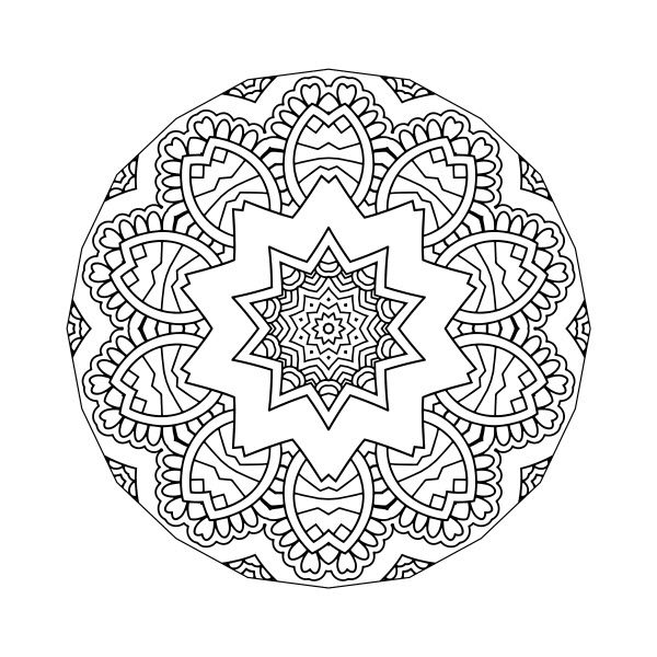 Adult Coloring Image #00115