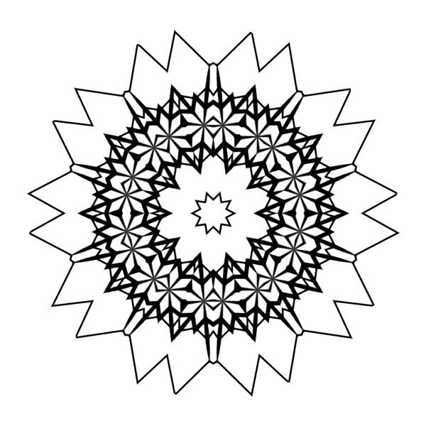 Adult Coloring Image #00121