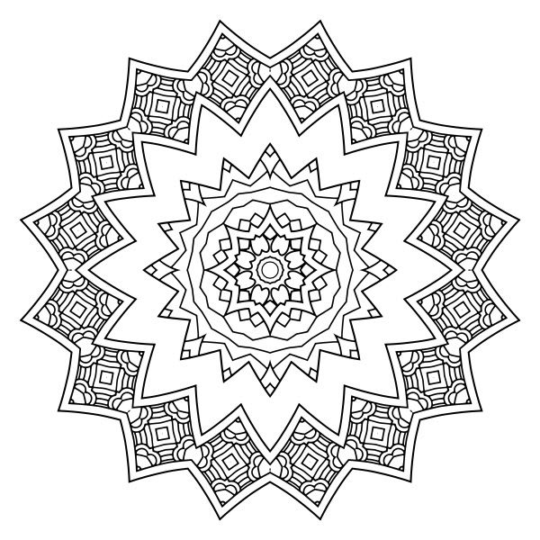 Adult Coloring Image #00123
