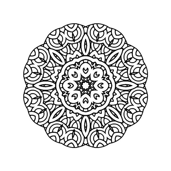 Adult Coloring Image #00125