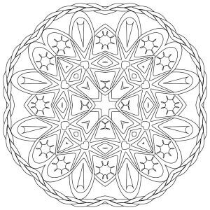 Adult Coloring Image #00128