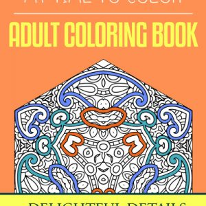 Delightful Details Adult Coloring Book