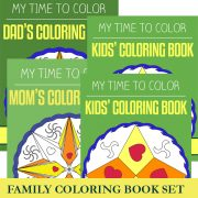 Family Coloring Set