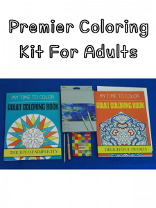 coloring kit for adults
