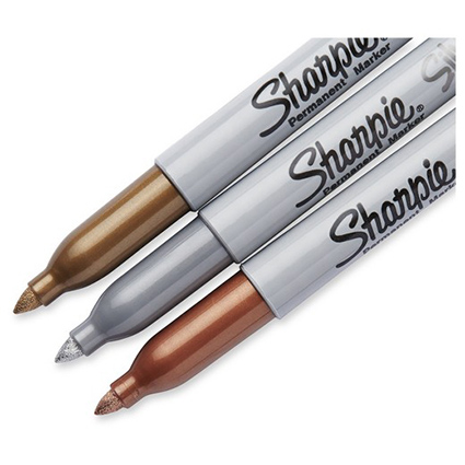 sharpie metallic markers set of 3