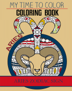 aries zodiac sign coloring book