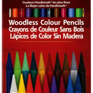 colored pencils woodless