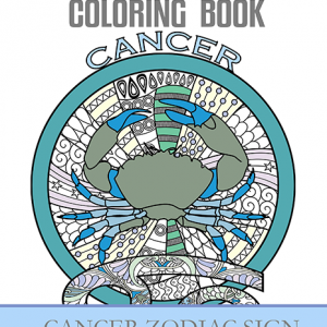 cancer zodiac sign coloring book