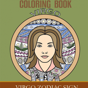 virgo zodiac sign coloring book