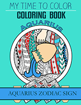 aquarius coloring book