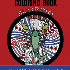 scorpio zodiac sign coloring book