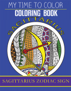 sagittarius zodiac sign coloring book