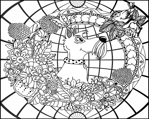 printable coloring page #146