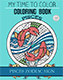 pisces coloring book